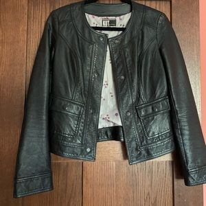 Kut from the Cloth faux leather jacket